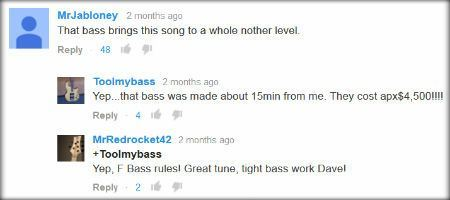 F Bass comments from Ghosts video by Big Wreck
